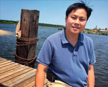 Thi Nguyen served with Mennonite Central Committee as a translator and adviser for many Vietnamese people in Bayou La Batre, La., for two years after Katrina, then stuck around. — Mark Beach/MDS