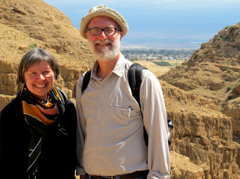 Melita and Byron Rempel-Burkholder served in a variety of support roles in Palestine at Bethlehem Bible College from January to April. — Mennonite Church Canada