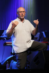 John Murray speaks July 4 in worship at the Mennonite Church USA convention in Kansas City, Mo. — Vada Snider/MWR