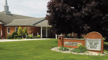 Holdeman Mennonite Church near Wakarusa, Ind., is one of multiple congregations founded by a family influential within several streams of Anabaptism. — Rich Preheim
