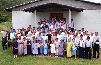 Iglesia Menonita San Marcos in La Laguna, Honduras, is a Mennonite Christian Fellowship congregation established in 1975. It has 44 members, about 100 attendees and seven staff. — Cory and Jennifer Anderson
