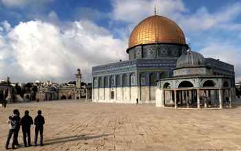 The Dome of the Rock has been called Jerusalem's most recognizable landmark. — J. Nelson Kraybill