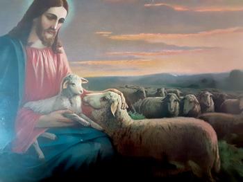 shepherd painting r