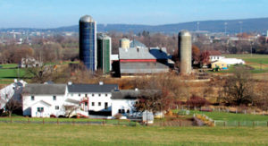"The farm of Eugene and Marie Lapp, members of the Biblical Mennonite Alliance — similar to the Amish in some respects, including the importance of ""plainness"" — in Lancaster County, Pa. — Elizabeth E. Evans/RNS"