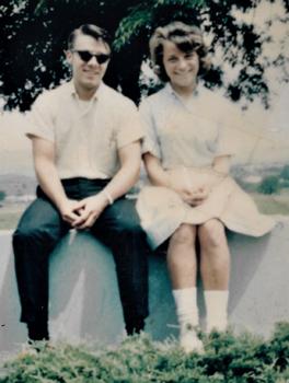 Jim Bishop and Anna Mast, 1967. — Jim Bishop