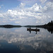 Clouds, Canoe and Ensign Lake