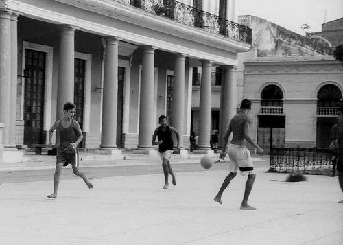 Football with columns