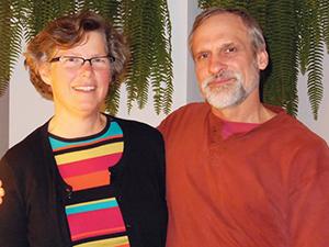 Sue Klassen and Johann Zimmermann, public health nurse and structural engineer