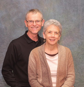 Nathan and Elaine Zook Barge, restorative justice specialist and STAR (Strategies for Trauma Awareness and Resilience) director