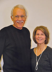 Rick and Carolyn Yoder, retired business and economics professor/semiretired international health systems consultant and psychotherapist