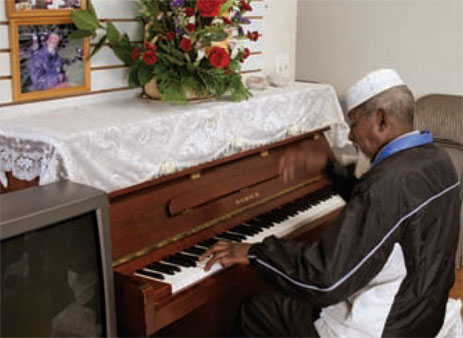 Billy is a formerly homeless man who is now a deacon and musician in the ministry of Fourth Street Mennonite Church. Photo provided