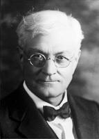 Founder H.P. Krehbiel hired future editor Menno Schrag in 1925. — Mennonite World Review