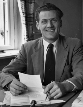 Calvin Redekop directed the European Pax program from January 1950 to December 1952.